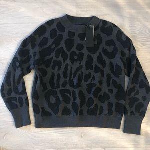 Rta Leopord Sweater - Size Small, brand new!